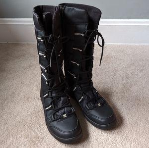 DC Knee High Snow Boots